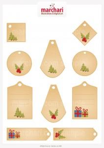 4. etichete pentru cadouri