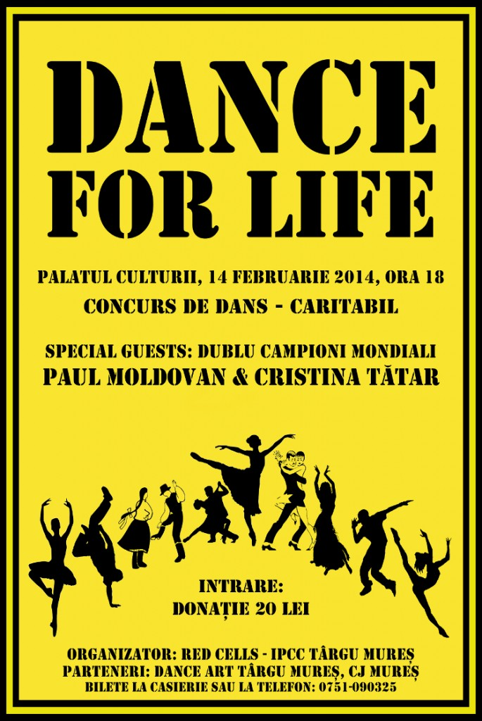 Afis Dance for life 2014