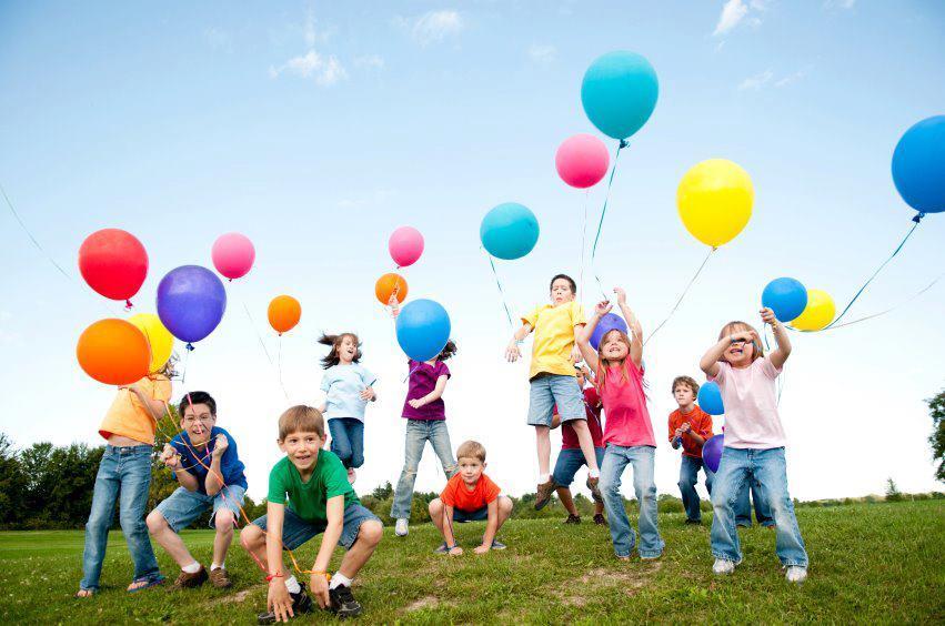 copii si baloane