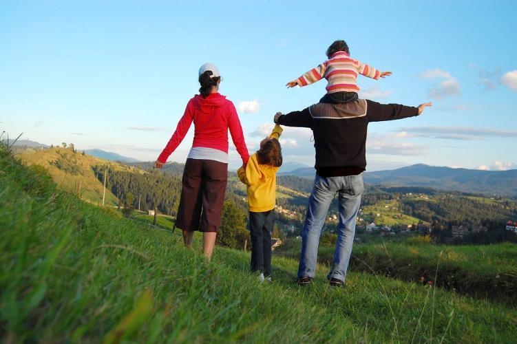 familie la munte