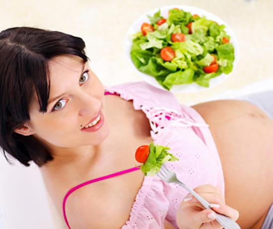 gravida cu legume